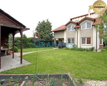 GRAHAMS-PRENÁJOM 6izb. dom v tichej ulici Chorvátsky Grob-Čierna Voda