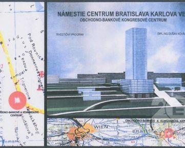 Exkluzívny pozemok 4 706 m2 výborná lokalita Karlova Ves - predaj