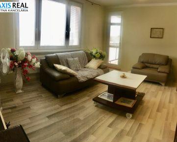 REZERVOVANÉ: Veľmi pekný, svetlý 3 izbový byt na Družbe! Krásny výhľad!