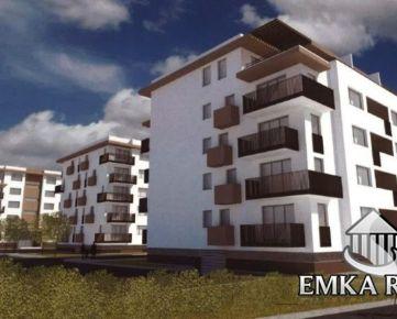Novostavba SEVERKA - 2 izb. byt 62,6 m2 s loggiou Pezinok
