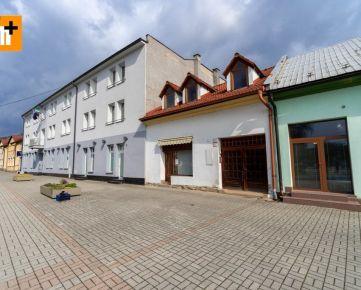Kysucké Nové Mesto Námestie v centre obchodné priestory na predaj - TOP ponuka