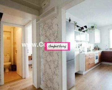 COMFORT LIVING ponúka - Kompletne zrekonštruovaný 4 izbový byt s výhľadom na zeleň na začiatku Petržalky