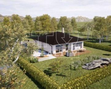 Exkluzívne ponúkame bungalov na kľúč s úžitkovou plochou 120m2 a pozemkom 700m2. CENA: 165 000,00 EUR