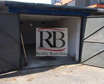 Na predaj radová garáž v centre Bratislavy na Budovateľskej ulici, Nivy