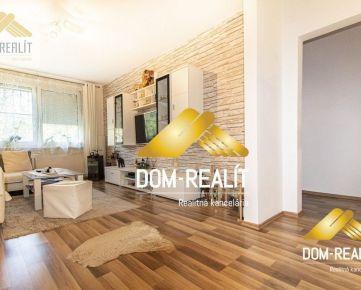 DOM-REALÍT a Veľký 3 izbový ( pôvodne 4 izbový) kompletne zrekonštruovaný byt