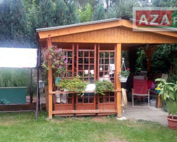 Krásna záhrada s mobilným domom v tichom prostredí Devína je na predaj