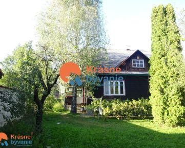 Predám rodinný dom so záhradou vo Zvolenskej Slatine