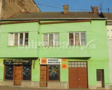 Predaj meštianskeho domu v centre mesta Jelšava