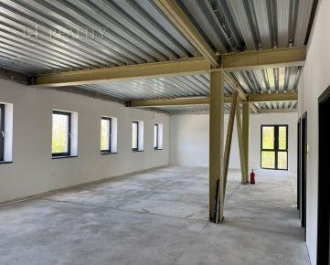 Komerčné priestory na prenájom, novostavba, 210 m2 + 7x parkovacie státie, Trenčín, ul. Ľ. Stárka / Zámostie