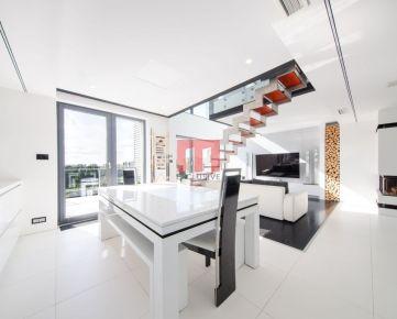 Na predaj luxusný 3,5 izbový penthouse s výhľadom na Chorvátske rameno v novostavbe PETRŽALKA CITY