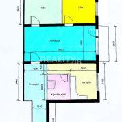 3-izb. byt 64m2, čiastočná rekonštrukcia