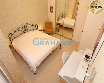 GRAHAMS-PRENÁJOM nadštandardný 2 izb. byt, Bukurešťská ul, BA I