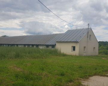Dražba poľnohospodárskej budovy v obci Jovsa