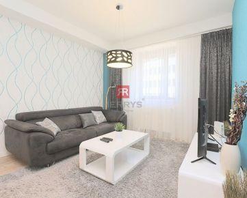 HERRYS - Na prenájom kompletne zriadený 2 izbový byt priamo v centre na ulici Suché Mýto
