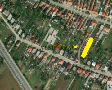Na predaj stavebný pozemok 1045 m2, Vlčkovce