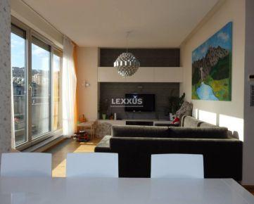 LEXXUS-PRENÁJOM 3i. byt o výmere 90m2 s 70m2 terasou, Ovručská