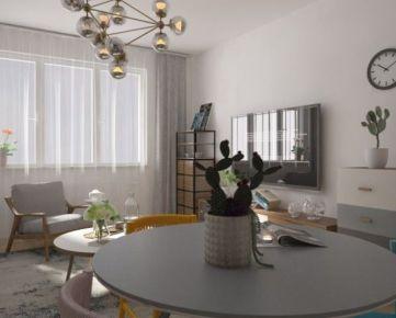 1-izbový byt v novostavbe Zelené Vlčince (A.206)