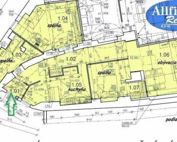 Netradičné bývanie -114m2 na pešej zóne v centre Prešova