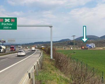 Na prenájom reklamná plocha - megaboard - diaľnica D1