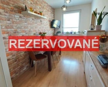 Kompl. zrekonštruovaný 4 izb. byt s loggiou, 86m2, ul. Popradská, Prešov