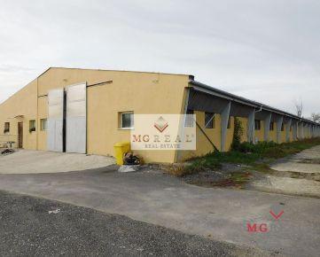 Na prenájom priemyselný areál 7 km od Trnavy za výbornú cenu
