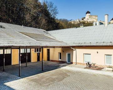 Predaj domu na podnikanie aj bývanie pod hradom v širšom centre Trenčína