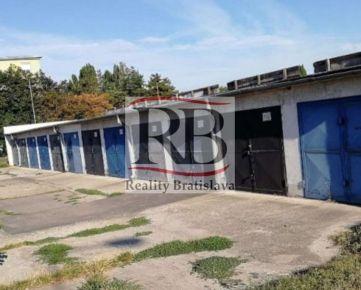 Na predaj radová garáž na Astronomickej ulici v Ružinove