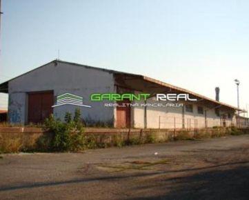 GARANT REAL - prenájom skladový / komerčný objekt, 940 m2, priemyselná časť, Trebišov