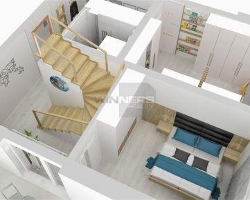 B15 - Moderné veľkometrážne mezonetové byty, 129 m2
