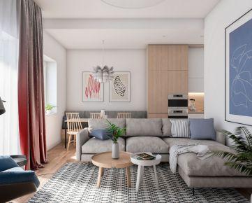 Rezidencia Komenského! Predaj veľkého 2i bytu 60,13m2 s balkónom, Komenského ul., Kysucké Nové Mesto