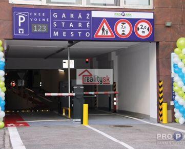 Parkovanie v centre Bratislavy