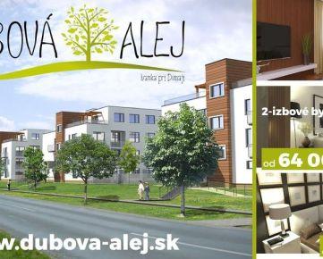 DUBOVÁ ALEJ - 2izbový byt (SO.01, byt H.2-II) s loggiou a pivn.kobkou, Ivanka pri Dunaji