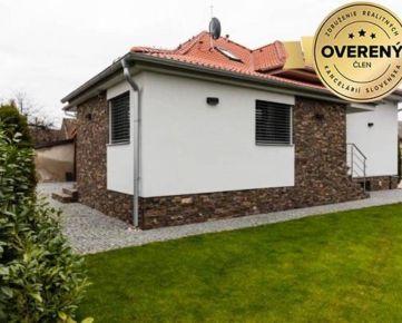 Nadštandardný trojpodlažný 5- izbový rodinný dom v Bernolákove.
