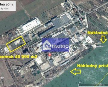 3120I - Pozemok v priemyselnej zóne mesta Štúrovo na predaj