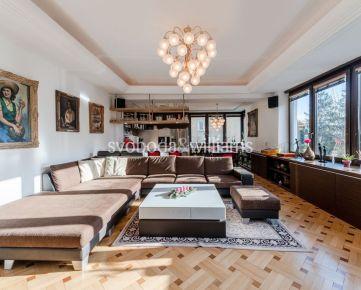 9 izbový rodinný dom Bratislava I Staré Mesto výhľad na Bratislavský hrad