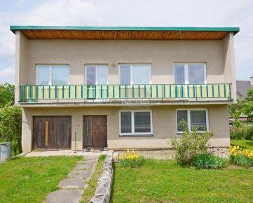 PREDAJ: Rodinný dom na rovinatom pozemku 795 m2 Ružomberok