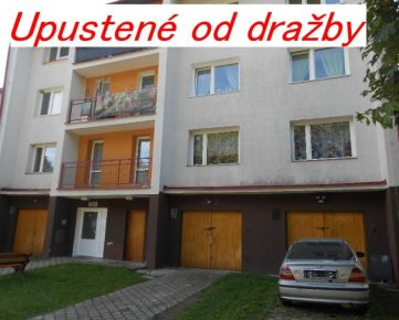 UPUSTENÉ OD DRAŽBY-3-izbový byt.