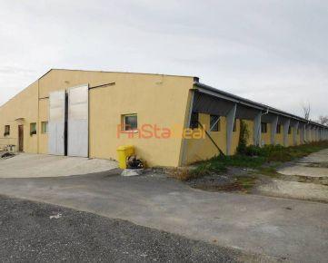 Prenájom, priemyselný areál 7 km od Trnavy za výbornú cenu