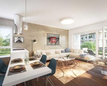 HERRYS - Na predaj 3 izbový apartmán s terasou a zelenou terasou v projekte Nový Ružinov