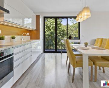 Na prenájom 3 izbový byt 82,25 m² s balkónom, Forest Park, Mokrohájska ul.
