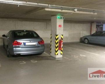 Na prenájom parking v MEINL RESIDENCE (OC Centrál), podzemná garáž