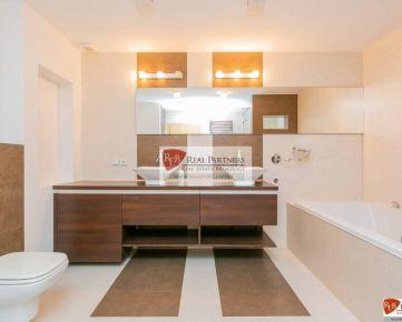 Veľkometrážny luxusný 4 izbový mezonet, 165 m2, Miletičova ul, Ružinov