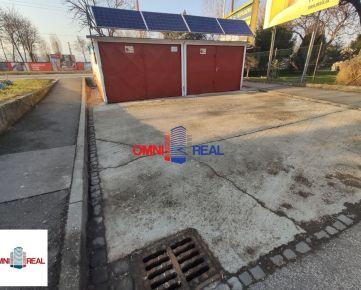 2x garáž, Doležalova - Rožňavská - možnosť parkovania pred garážami, montážna jama, elektrika