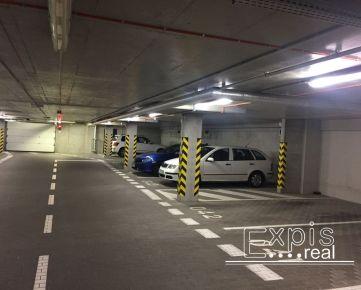 PRENÁJOM parkovacie miesto v garáži NOVOSTAVBA Bratislava Ružinov Jegého EXPIS REAL