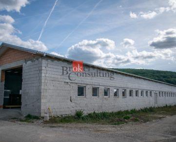 Skladová a výrobná hala Obyce na prenájom