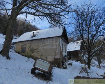 Domček na samote v horách s 1Ha pozemkom