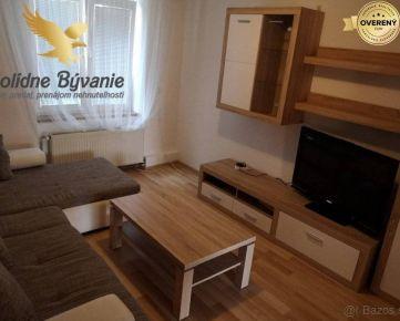 Zariadený 2 izbový byt na prenájom