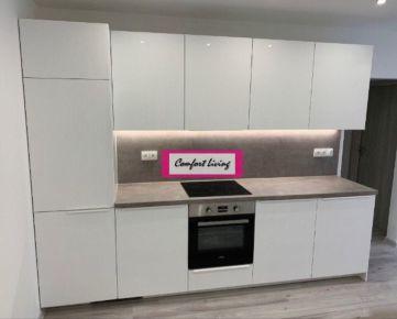 COMFORT LIVING ponúka - Kompletne nadštandardne zrekonštruovaný byt s loggiou - nové rozvody elektriky, vody a odpadu, nové vstavané spotrebiče, nepriechodné izby