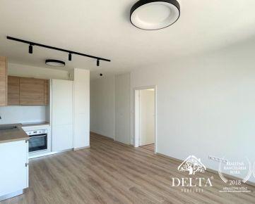 DELTA   2 izbový byt v novostavbe NUPPU, Hraničná, Ružinov, 50 m2