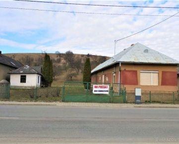 starší dom s rozsiahlym pozemkom s možnosťou parcelovania - Dubovica